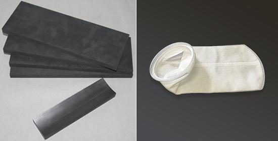 ■カーボンベース材 ■濾過用フィルター